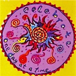 Celebrate One Day At A Time! Tasha Paley Art