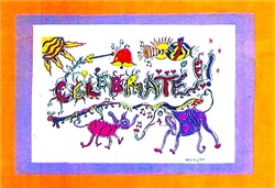 Celebrate! Animals Tasha Paley Art